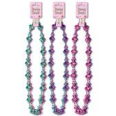 12 Units of Bunny Beads asstd colors - Party Necklaces/Bracelets/Headpiece