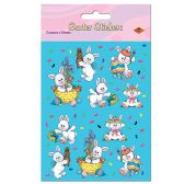 12 Units of Easter Bunny Stickers