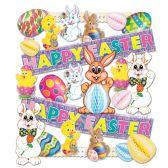 Easter Decorating Kit - 26 Pcs