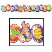 12 Units of Happy Easter Streamer
