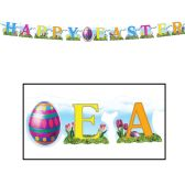 12 Units of Happy Easter Streamer - Streamers & Confetti