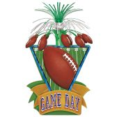 12 Units of Game Day Football Centerpiece - Party Center Pieces