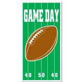 12 Units of Game Day Football Door Cover indoor & outdoor use - Photo Prop Accessories & Door Cover