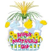 12 Units of Happy Mother's Day Centerpiece - Party Center Pieces