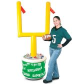Inflatable Goal Post Cooler w/Football holds apprx 60 12-Oz cans; 9  football included