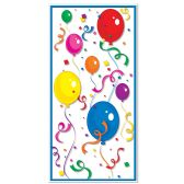 12 Units of Balloons & Confetti Door Cover indoor & outdoor use - Streamers & Confetti