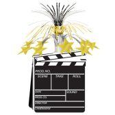 12 Units of Movie Set Clapboard Centerpiece - Party Center Pieces
