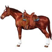 12 Units of Jointed Horse - Bulk Toys & Party Favors