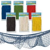 12 Units of Fish Netting asstd colors