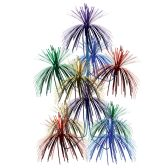 12 Units of Firework Chandelier multi-color; doubles as a centerpiece - Party Center Pieces