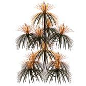 12 Units of Firework Chandelier orange & black; doubles as a centerpiece - Party Center Pieces