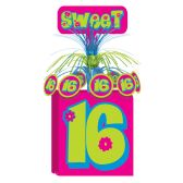 12 Units of Sweet 16 Centerpiece - Party Center Pieces