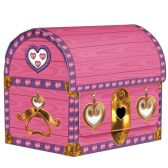 12 Units of Princess Treasure Chest Favor Boxes assembly required - Party Novelties