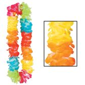 12 Units of Silk 'N Petals Double-Soft Lei multi-color