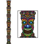 12 Units of Jointed Tiki Totem Pole prtd 2 sides - Bulk Toys & Party Favors