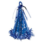 12 Units of Cone Hat Balloon Weight blue - Party Hats & Tiara