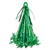 12 Units of Cone Hat Balloon Weight green - Party Hats & Tiara
