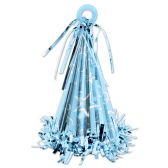 12 Units of Cone Hat Balloon Weight lt blue - Party Hats & Tiara