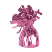 12 Units of Metallic Wrapped Balloon Weight pink