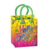12 Units of Birthday Mini Gift Bag Party Favors - Party Favors