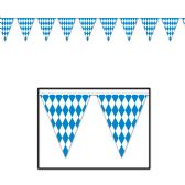 12 Units of Oktoberfest Pennant Banner all-weather; 12 pennants/string - Party Banners