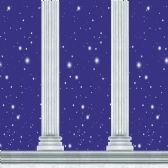 6 Units of Column Backdrop insta-theme - Party Novelties