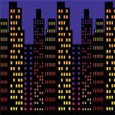 6 Units of Cityscape Backdrop insta-theme - Party Novelties