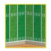 6 Units of Football Field Backdrop insta-theme - Party Novelties
