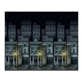 6 Units of Victorian Townscape Backdrop insta-theme - Party Novelties