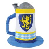 6 Units of Felt Beer Stein Hat one size fits most