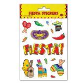 12 Units of Fiesta Stickers