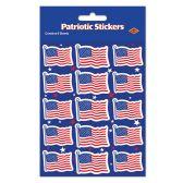 12 Units of U S Flag Stickers