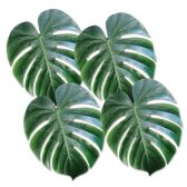12 Units of Tropical Palm Leaves polyester