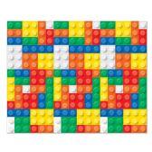 6 Units of Building Blocks Backdrop insta-theme - Party Novelties