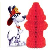 12 Units of Fire Hydrant Centerpiece - Party Center Pieces