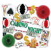 Casino Decorating Kit - 24 Pcs