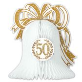12 Units of 50th Anniversary Centerpiece - Party CenterPieces