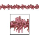 24 Units of Tissue Festooning dusty rose & brown