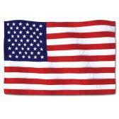"24 Units of American Flag Cutout 18"""