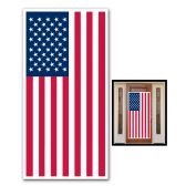 12 Units of American Flag Door Cover indoor & outdoor use - Photo Prop Accessories & Door Cover