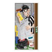 12 Units of Referee Restroom Door Cover indoor & outdoor use - Photo Prop Accessories & Door Cover