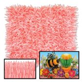 12 Units of Pkgd Fringed Tissue Mats dusty rose & pink