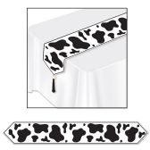 12 Units of Printed Cow Print Table Runner - Table Cloth
