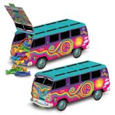 12 Units of 60's Bus Centerpiece assembly required - Party Center Pieces