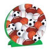 12 Units of 3-D Sports Centerpiece - Party Center Pieces