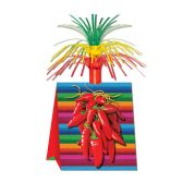 12 Units of Chili Pepper Centerpiece - Party Center Pieces