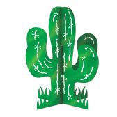 12 Units of 3-D Cactus Centerpiece assembly required - Party Center Pieces