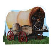 12 Units of 3-D Chuck Wagon Centerpiece - Party Center Pieces