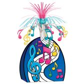 12 Units of Musical Notes Centerpiece multi-color - Party Center Pieces