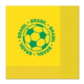 12 Units of Luncheon Napkins - Brasil (2-Ply)